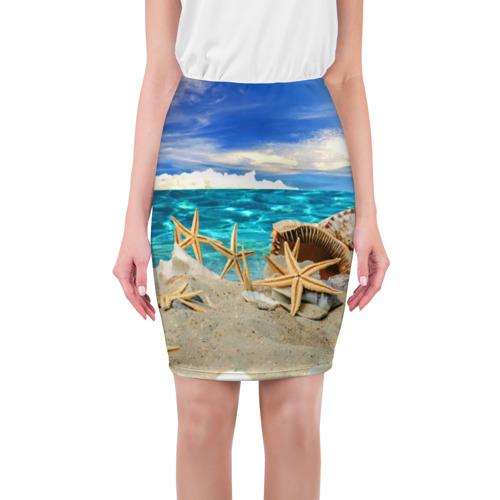 Юбка 3D Морской пляж 4