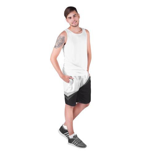 Мужские шорты 3D  Фото 03, Минимализм
