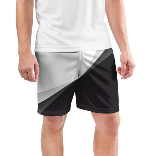 Мужские шорты 3D спортивные  Фото 03, Минимализм
