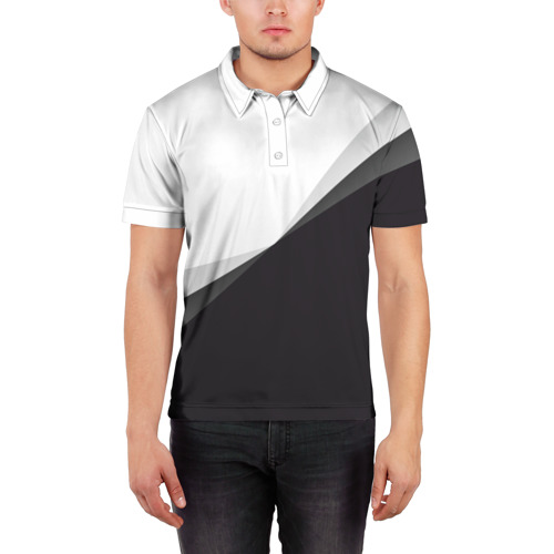 Мужская рубашка поло 3D  Фото 03, Минимализм