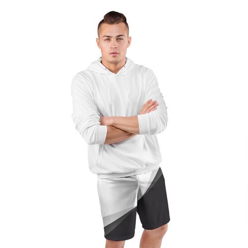 Мужские шорты 3D спортивные  Фото 05, Минимализм
