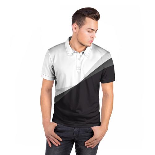 Мужская рубашка поло 3D  Фото 05, Минимализм