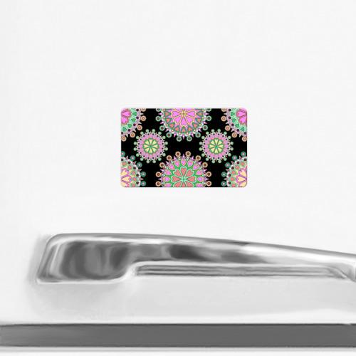 Магнит виниловый Visa  Фото 02, Орнамент 7