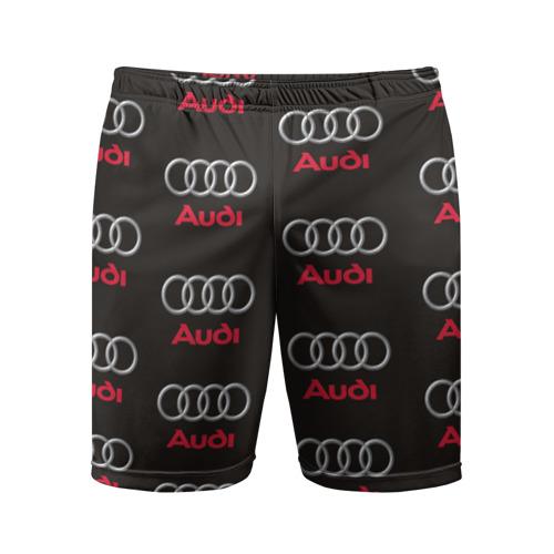 Мужские шорты 3D спортивные Audi
