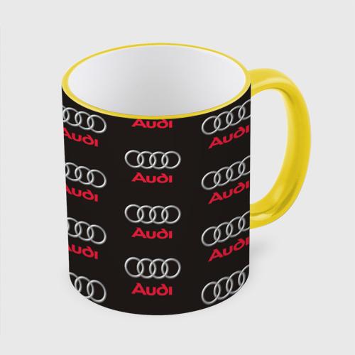 Кружка с полной запечаткой Audi