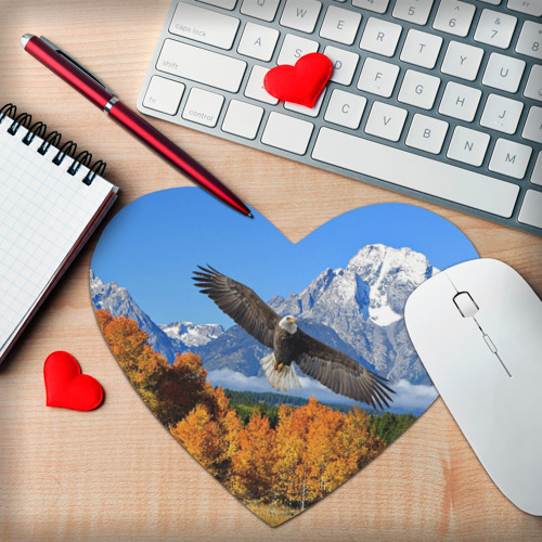Коврик сердце  Фото 02, Орел