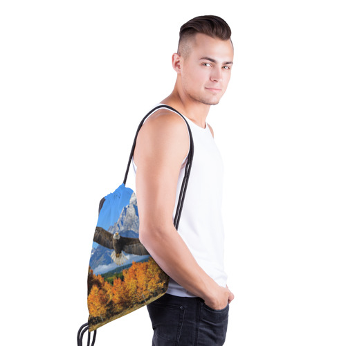 Рюкзак-мешок 3D  Фото 03, Орел