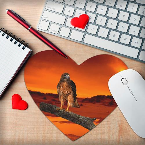 Коврик для мыши сердце Орел