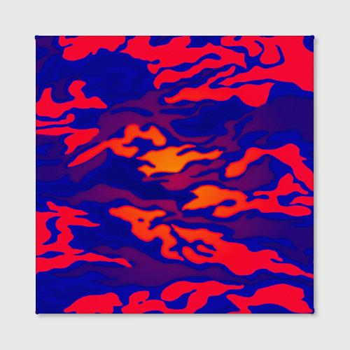 Холст квадратный  Фото 02, Камуфляжный