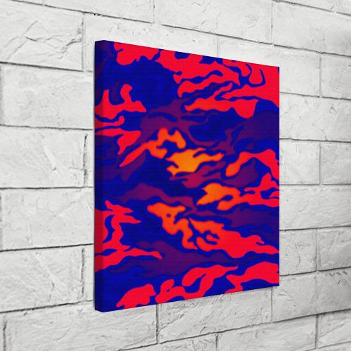 Холст квадратный  Фото 03, Камуфляжный