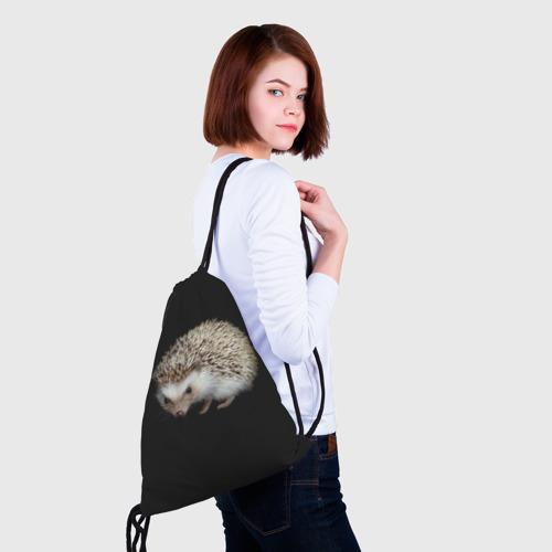 Ежик 2 (3d рюкзак-мешок) фото 1