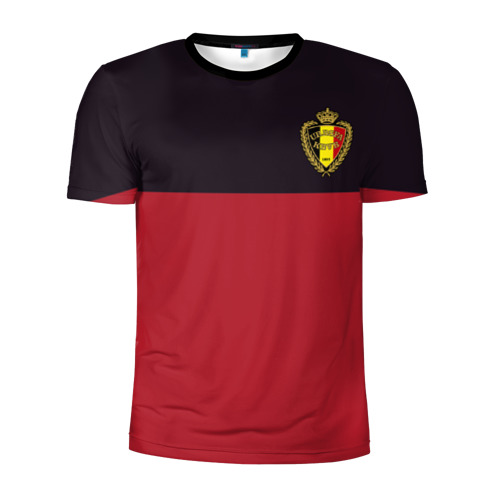 Мужская футболка 3D спортивная Сборная Бельгия