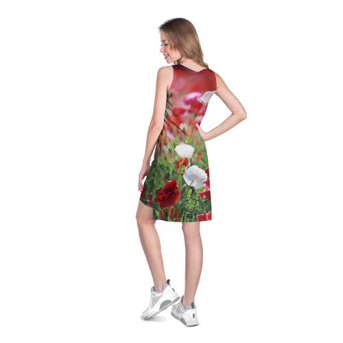 Платье-майка 3D  Фото 04, Маки