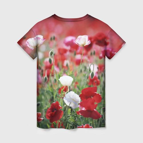 Женская футболка 3D Маки Фото 01