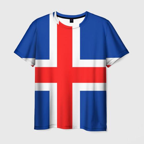 Мужская футболка 3D  Фото 03, Исландия