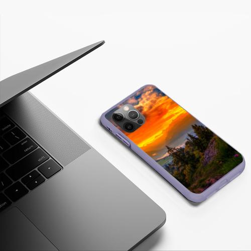 Чехол для iPhone 12 Pro Max Пейзаж Фото 01