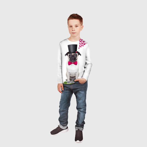 Детский лонгслив 3D  Фото 05, С Любовью