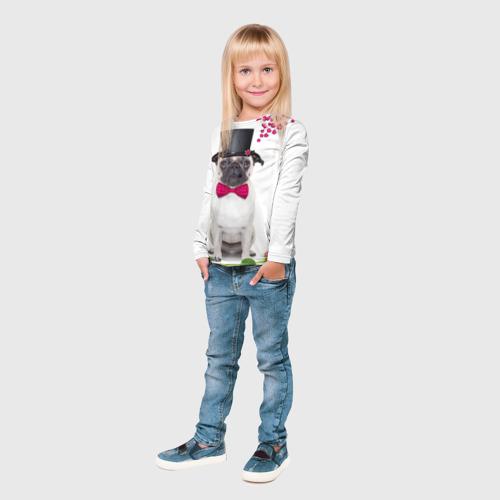 Детский лонгслив 3D  Фото 04, С Любовью