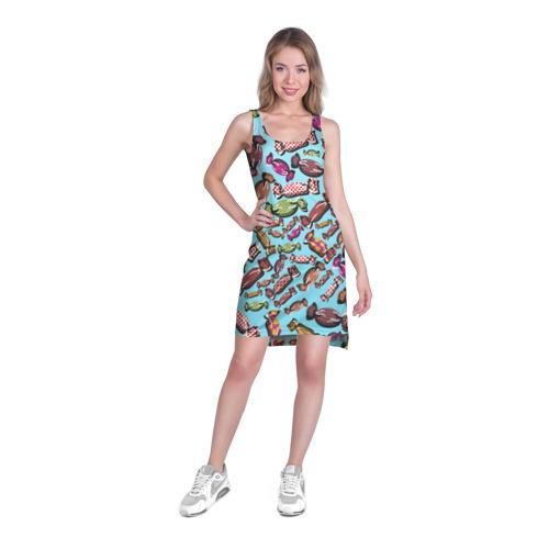 Платье-майка 3D  Фото 03, Конфеты
