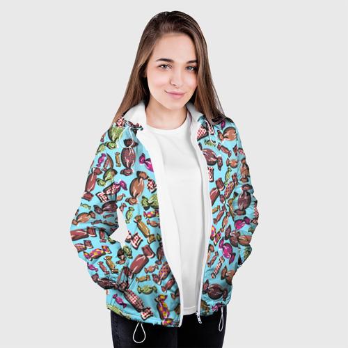 Женская куртка 3D  Фото 04, Конфеты
