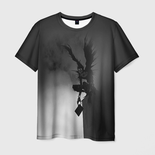 Мужская футболка 3D Тетрадь смерти 6