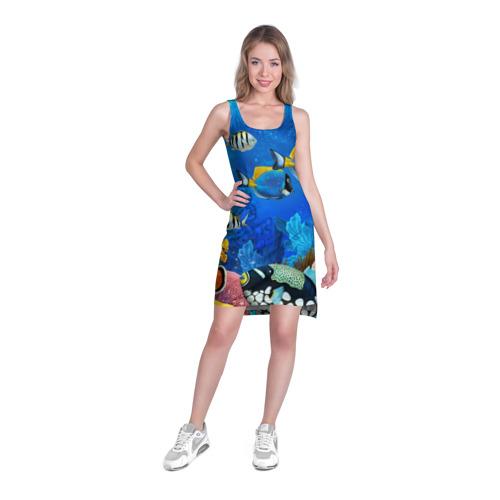 Платье-майка 3D  Фото 03, Экзотические рыбки