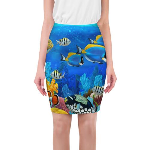 Юбка 3D Экзотические рыбки