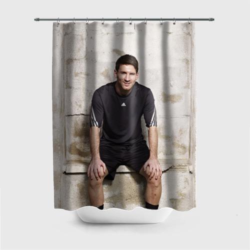 Штора 3D для ванной Месси Фото 01