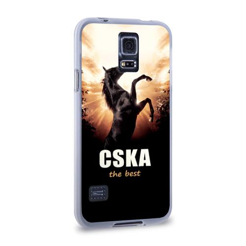 Чехол для Samsung Galaxy S5 силиконовый  Фото 02, CSKA the best