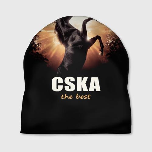 Шапка 3D CSKA the best