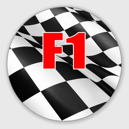 Коврик для мышки круглый Формула 1