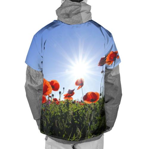 Накидка на куртку 3D  Фото 02, Маки 5