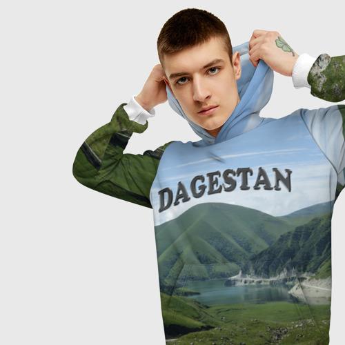 Мужская толстовка 3D Дагестан 2