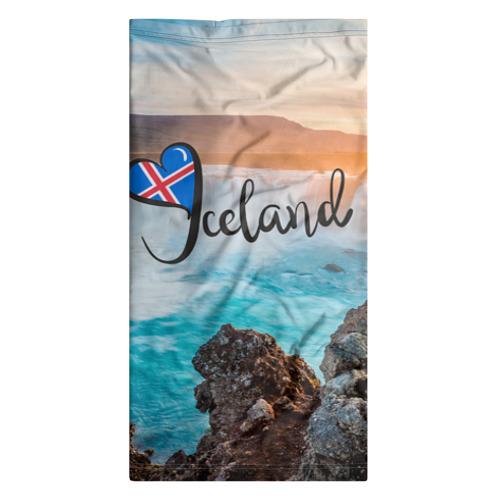 Бандана-труба 3D  Фото 07, Исландия
