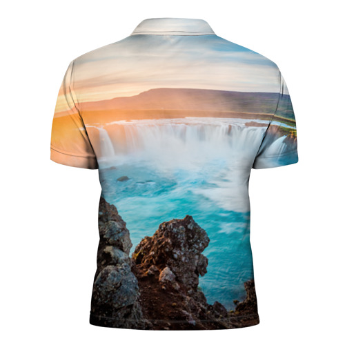 Мужская рубашка поло 3D  Фото 02, Исландия