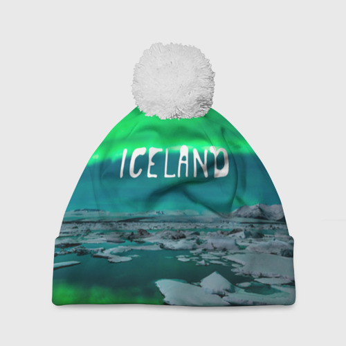 Шапка 3D c помпоном  Фото 01, Исландия