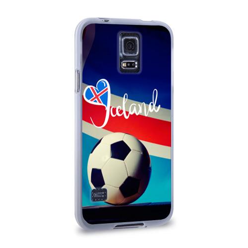 Чехол для Samsung Galaxy S5 силиконовый  Фото 02, Исландия