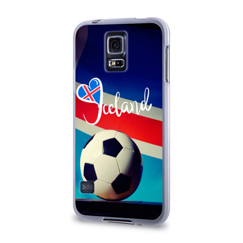 Чехол для Samsung Galaxy S5 силиконовый  Фото 03, Исландия