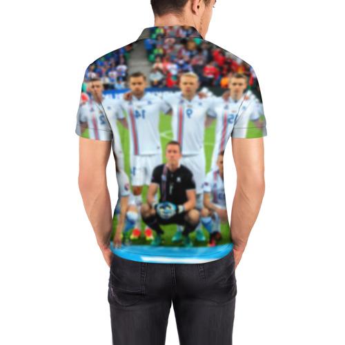 Мужская рубашка поло 3D  Фото 04, Сборная Исландии по футболу