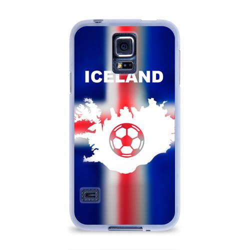 Чехол для Samsung Galaxy S5 силиконовый  Фото 01, Исландия