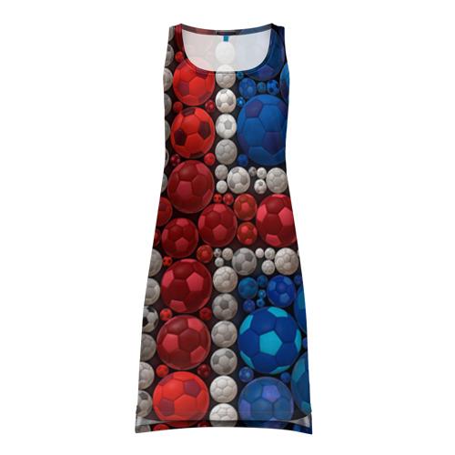 Платье-майка 3D Исландия