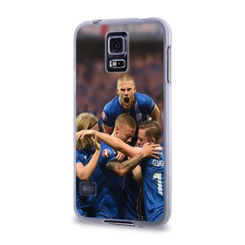 Чехол для Samsung Galaxy S5 силиконовый  Фото 03, Сборная Исландии по футболу