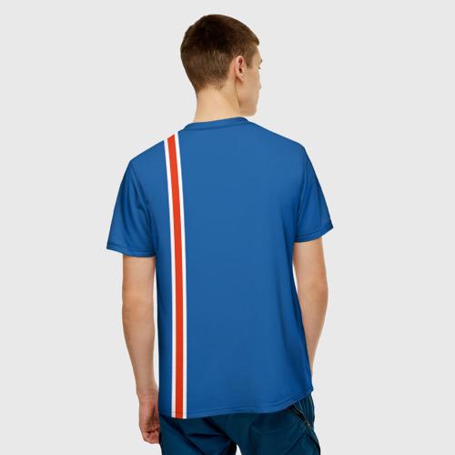 Мужская футболка 3D  Фото 02, Форма сборной Исландии по футболу