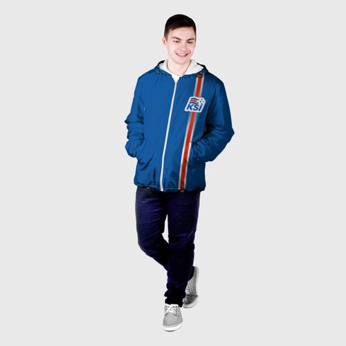 Мужская куртка 3D  Фото 03, Форма сборной Исландии по футболу
