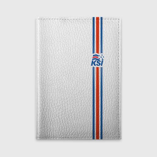 Обложка для автодокументов Форма сборной Исландии по футболу Фото 01