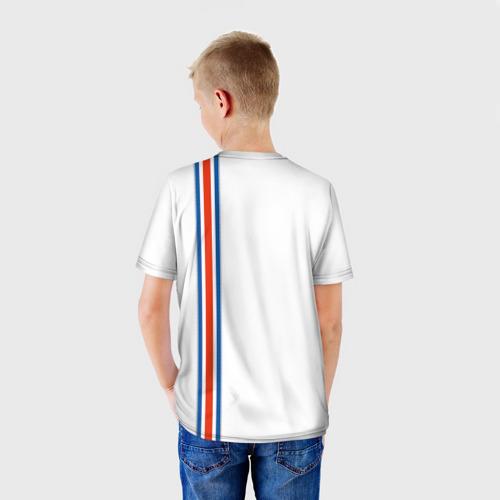 Детская футболка 3D Форма сборной Исландии по футболу Фото 01