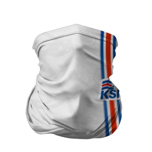 Бандана-труба 3D  Фото 01, Форма сборной Исландии по футболу