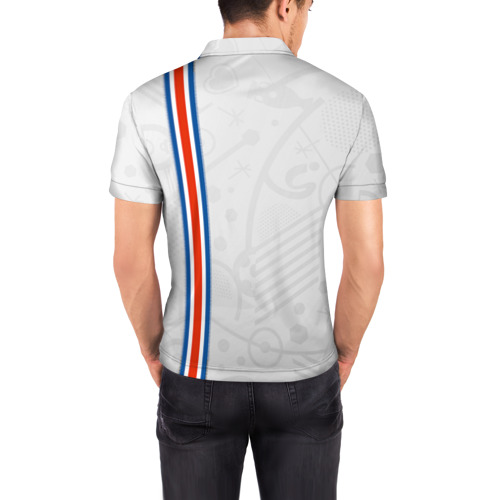 Мужская рубашка поло 3D  Фото 04, Форма сборной Исландии по футболу