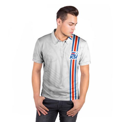 Мужская рубашка поло 3D  Фото 05, Форма сборной Исландии по футболу