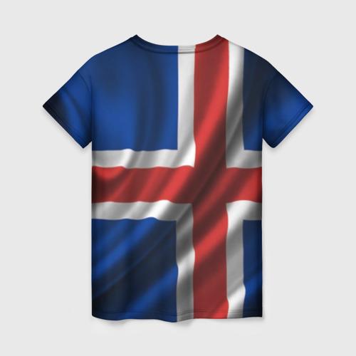 Женская футболка 3D Исландия Фото 01